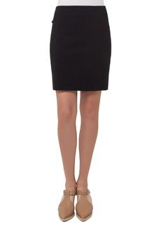 Akris Punto Short Stretch-Jersey Skirt