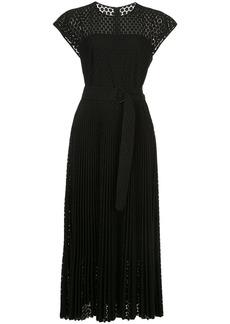 Akris Punto silk flared midi dress