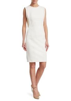 Akris Punto Sleeveless Jersey Sheath Dress
