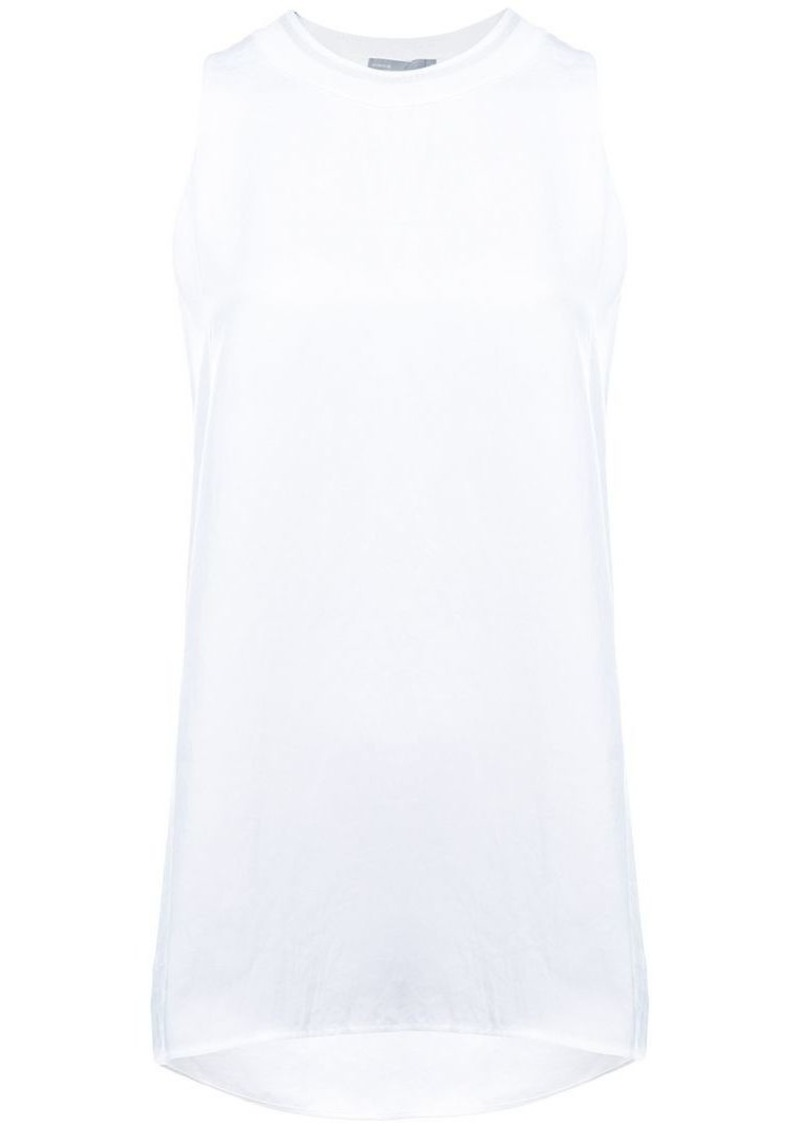 052760d07c02fd Vince sleeveless round neck blouse