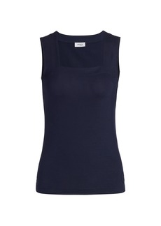Akris Punto Squareneck Sleeveless Top