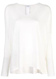 Akris Punto v-neck knitted top