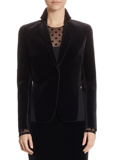 Akris Punto Velvet Jersey Jacket
