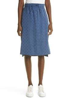 Women's Akris Punto Dot Pencil Skirt