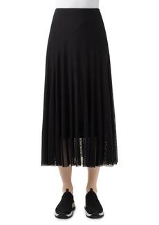 Women's Akris Punto Mesh Midi Skirt