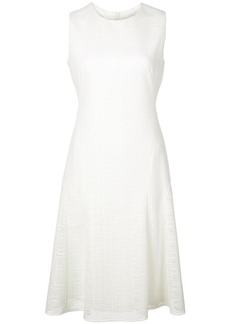 Akris Punto woven fit-and-flare dress