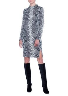 Akris Python Knee Length Dress