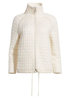 Akris Quilted Wool-Blend Jacket