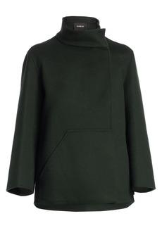 Akris Rafael Double-Face Cashmere Jacket