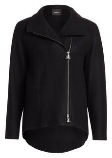 Akris Ray Cashmere Jersey Jacket