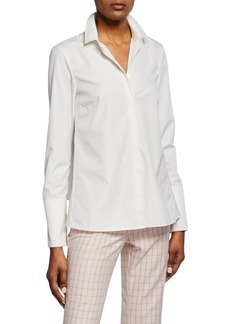 Akris Relax-Fit Placket-Front Shirt