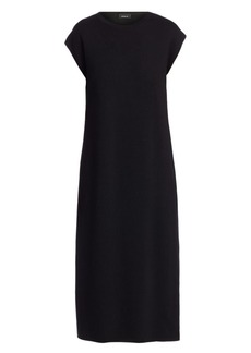 Akris Reversible Knit Midi Dress