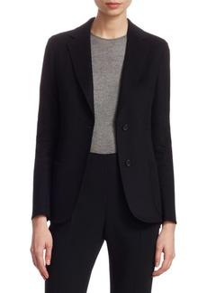 Akris Saigon Cashmere Wool Double Face Jacket