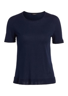 Akris Sea Island Cotton Tee