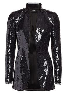 Akris Sequin Blazer Jacket