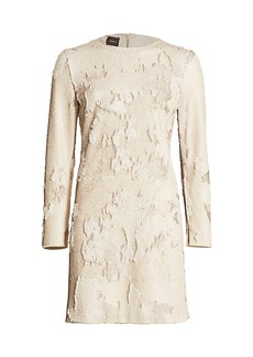 Akris Sequin Sheath Dress