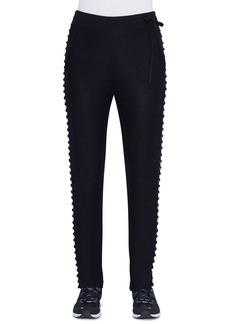 Akris Shimmer Silk Knit Joggers