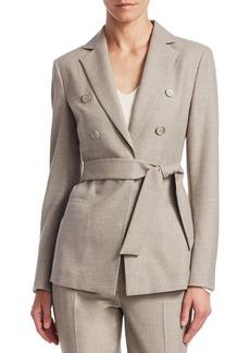 Akris Sibylle Self-Tie Jacket