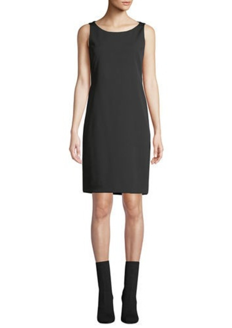 Akris Silk Crepe Shift Dress