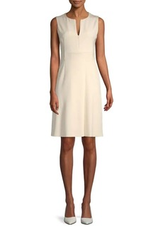 Akris Stretch-Silk Sleeveless Knee-Length Dress
