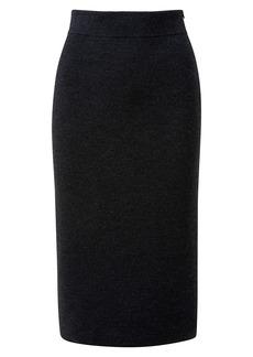 Akris Stretch Wool Pencil Midi-Skirt