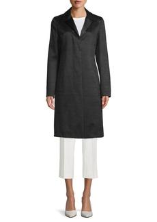 Akris Striped Longline Jacket