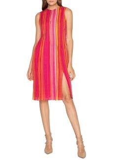 Akris Striped Silk Georgette Dress