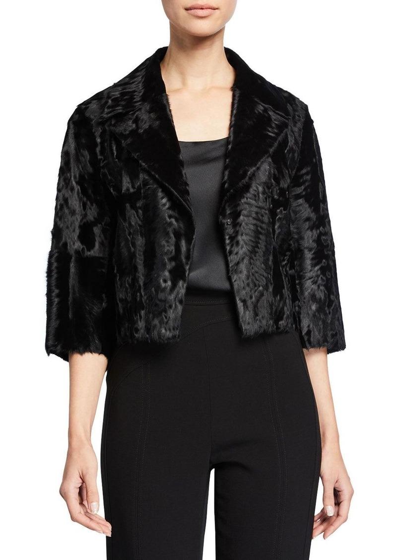Akris Surya Lamb Fur Jacket