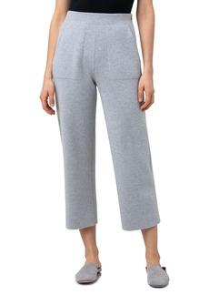 Women's Akris Crop Straight Leg Cashmere Pants