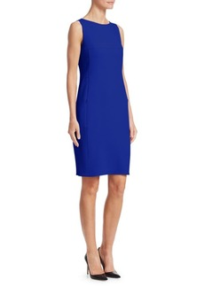 Akris Wool Crepe Sheath Dress