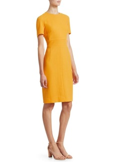 Akris Zip Waistband Sheath Dress