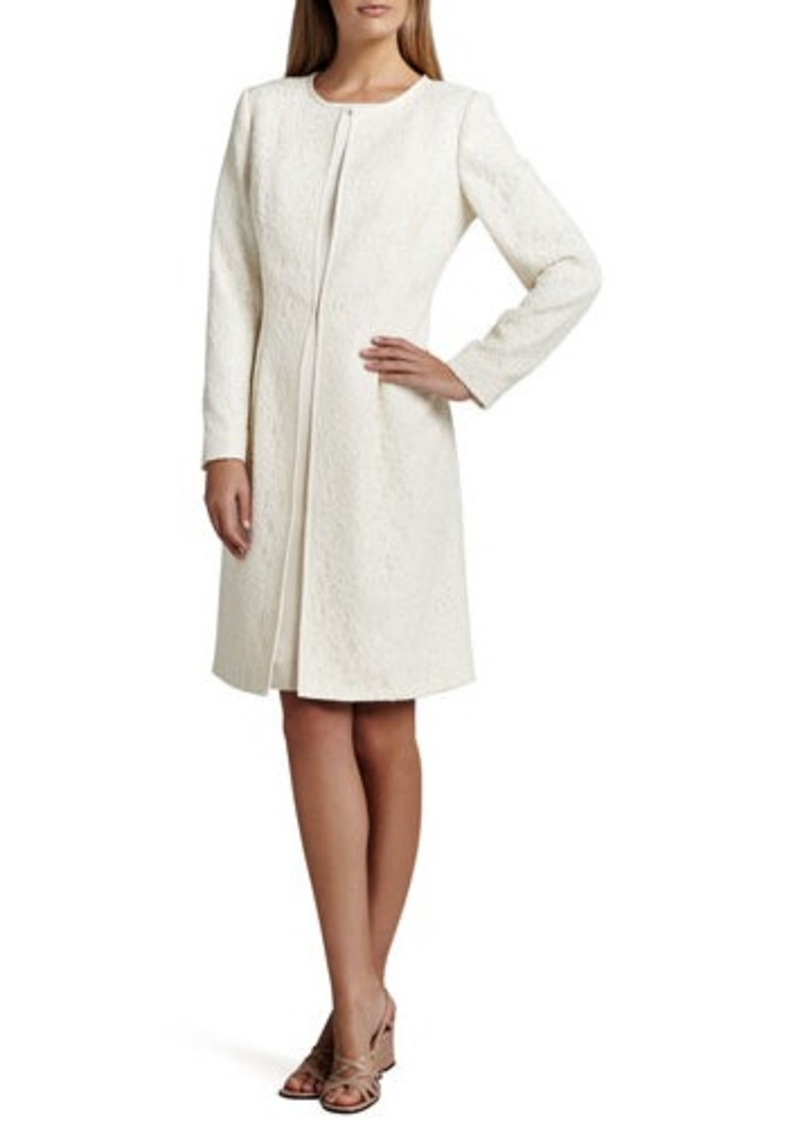 On Sale Today Albert Nipon Albert Nipon Jacquard Coat