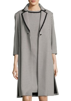 Albert Nipon Polka Dot Jacket w/ Dress