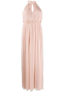 Alberta Ferretti sleeveless maxi dress