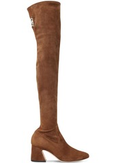 Alberta Ferretti 60mm Stretch Suede Over-the-knee Boots