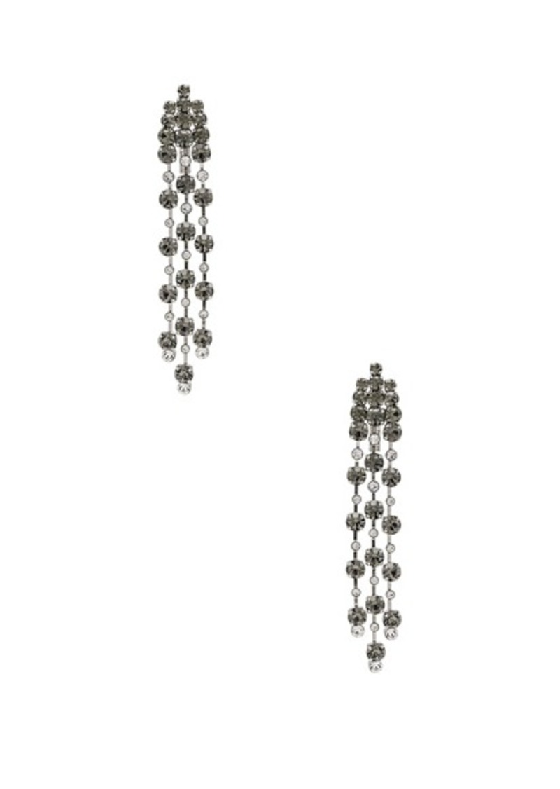 ALBERTA FERRETTI Crystal Chandelier Earrings