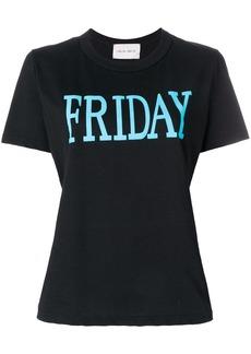 Alberta Ferretti Friday print T-shirt - Black