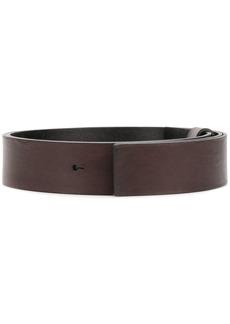 Alberta Ferretti minimal belt - Brown