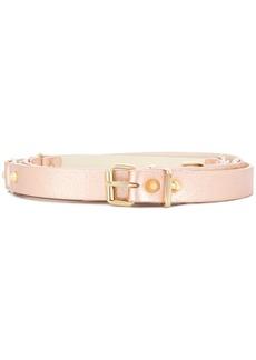Alberta Ferretti studded metallic belt - Pink & Purple