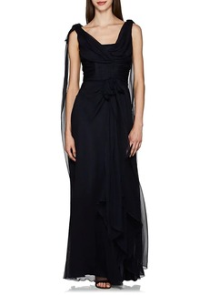 Alberta Ferretti Women's Draped Silk Georgette Gown