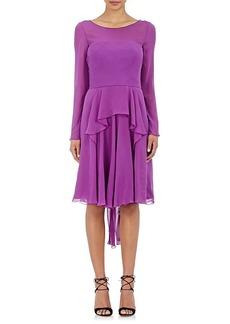 Alberta Ferretti Women's Long-Sleeve Dress