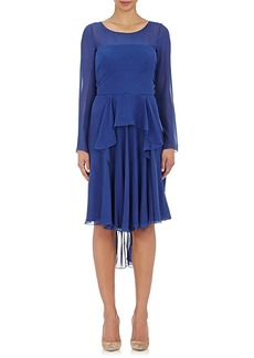 Alberta Ferretti Women's Long-Sleeve Dress