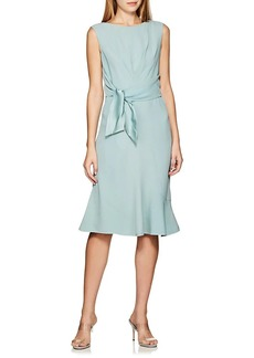 Alberta Ferretti Women's Self-Tie Crepe Dress