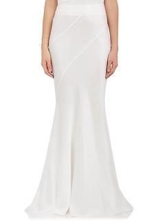 Alberta Ferretti Women's Silk Maxi Skirt