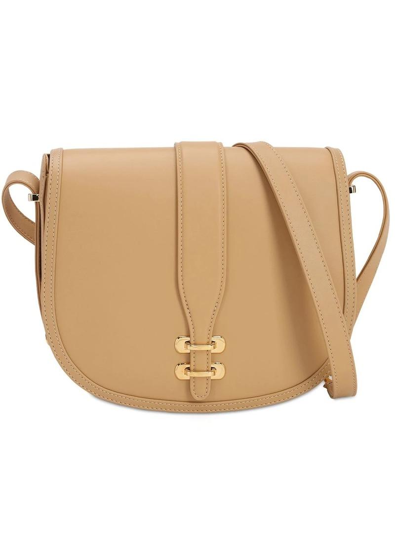Alberta Ferretti Albi Leather Shoulder Bag