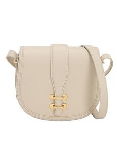 Alberta Ferretti Albi Small Leather Shoulder Bag