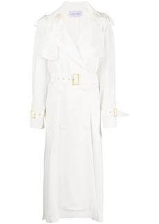 Alberta Ferretti belted double-breasted coat