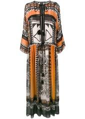 Alberta Ferretti boho maxi dress