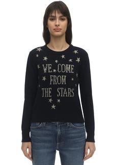 Alberta Ferretti Cashmere Blend Knit Sweater
