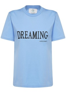 Alberta Ferretti Cotton Jersey Dreaming Regular T-shirt